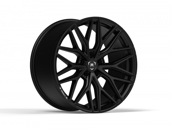 LUETHEN Edition 1 Rim Set - 9,5/10,5x20 5x120 ET30/35 72,6 - Satin Black
