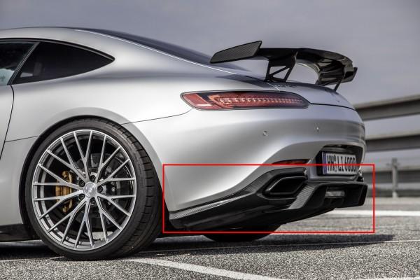 Mercedes AMG GT / AMG GTS C190 | Carbon Heckdiffusor Diffusor