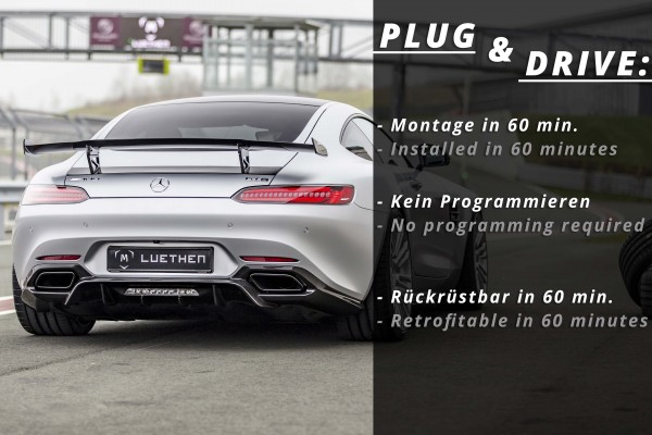 Mercedes AMG GT / AMG GTS C190 | Carbon Heckflügel / Heckspoiler / Spoiler