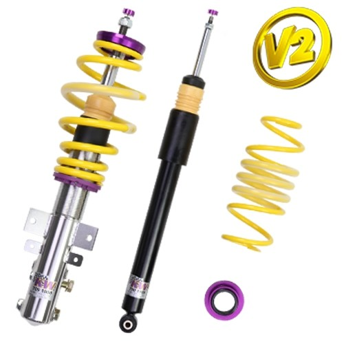 KW Coilover kit Variant 2 inox ( incl. deactivation for electronic damper)