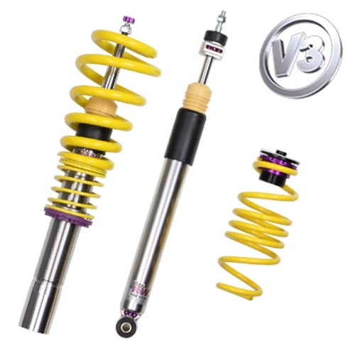 KW Coilover kit Variant 3 inox ( incl. deactivation for electronic damper)