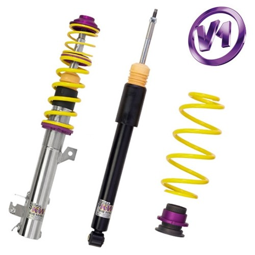 KW Coilover kit Variant 1 inox ( incl. deactivation for electronic damper)