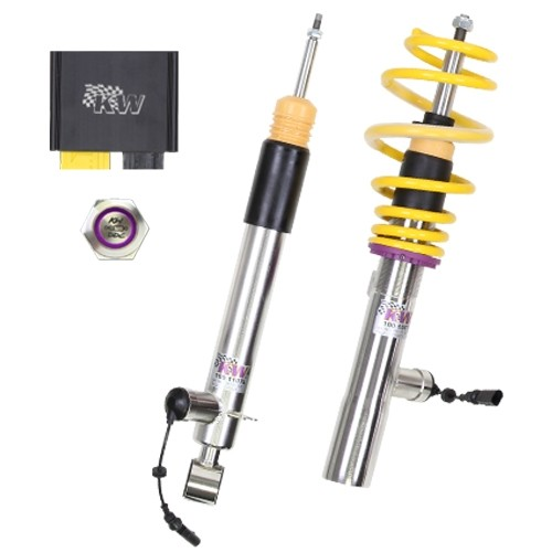 KW DDC - ECU coilovers inox